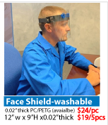 Covin-19 Face Shield
