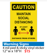 Covin-19 Warning Signs QuickData
